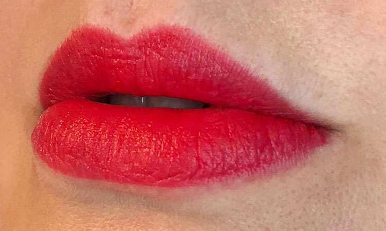 MAC Powder Kiss Lipstick Lasting Passion