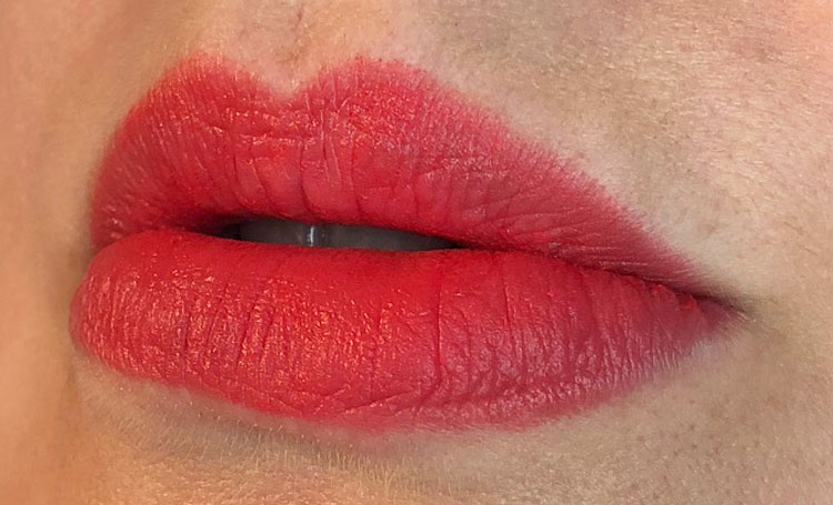 MAC Powder Kiss Lipstick Mandarin O