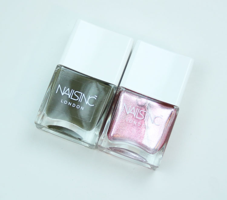 Nails Inc Girl King Nail Polish Duo