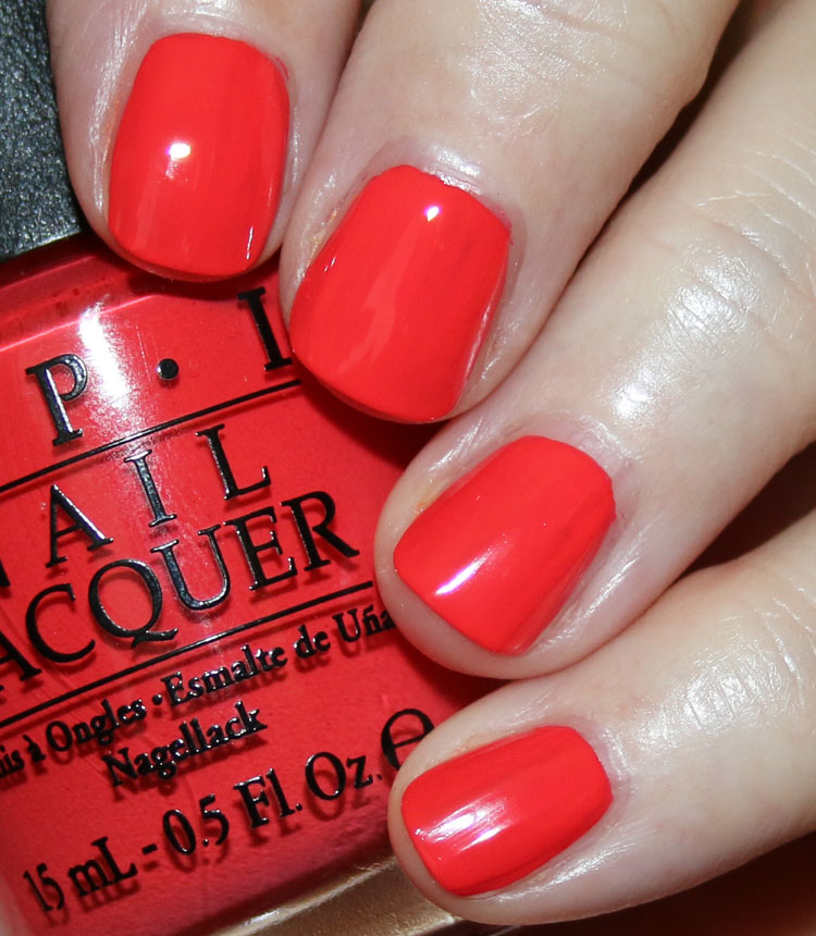 My Favorite Orange OPI Nail Lacquer Colors | Vampy Varnish