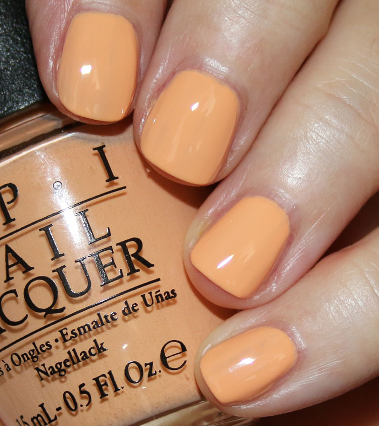 OPI I'm Getting a Tan-gerine