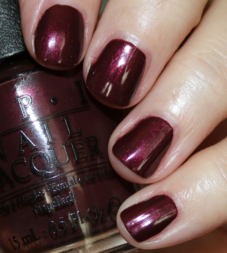 OPI Sleigh Ride For Two