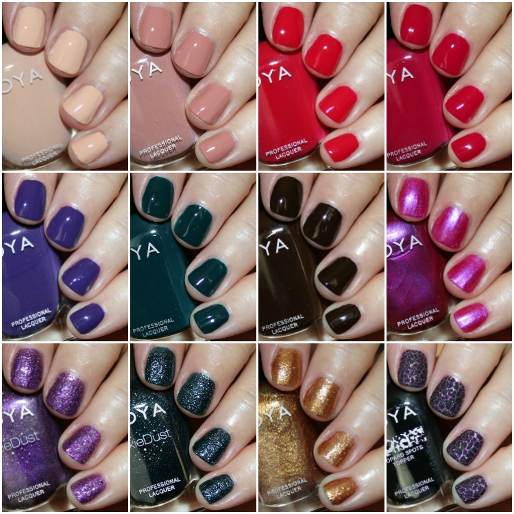 Zoya Jubilee Holiday 2018 Collection