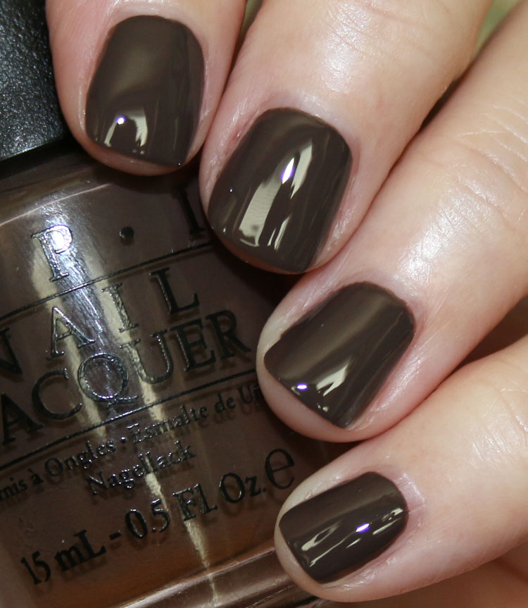 My Favorite Brown OPI Nail Lacquer Colors | Vampy Varnish