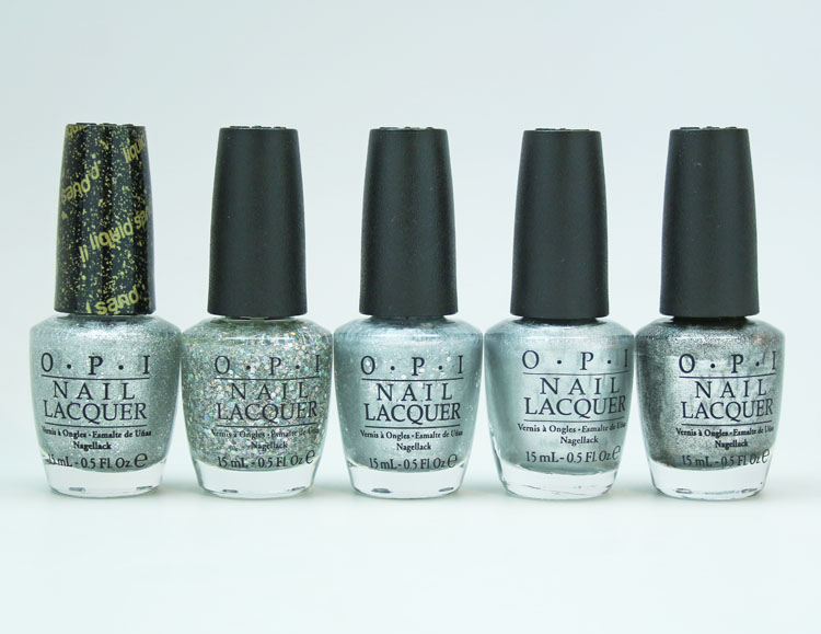OPI Silver Nail Lacquer