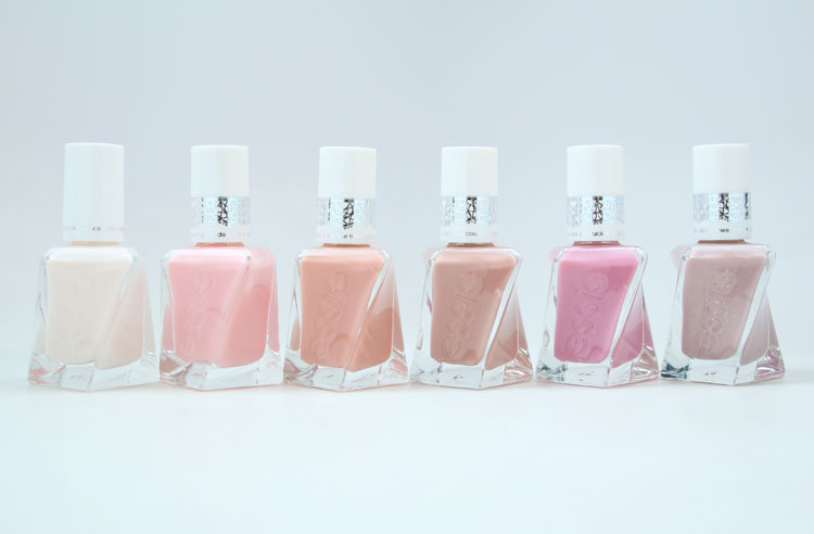 essie gel couture sheer silhouettes