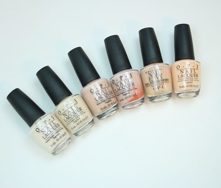My Favorite Beige OPI Nail Lacquer Colors