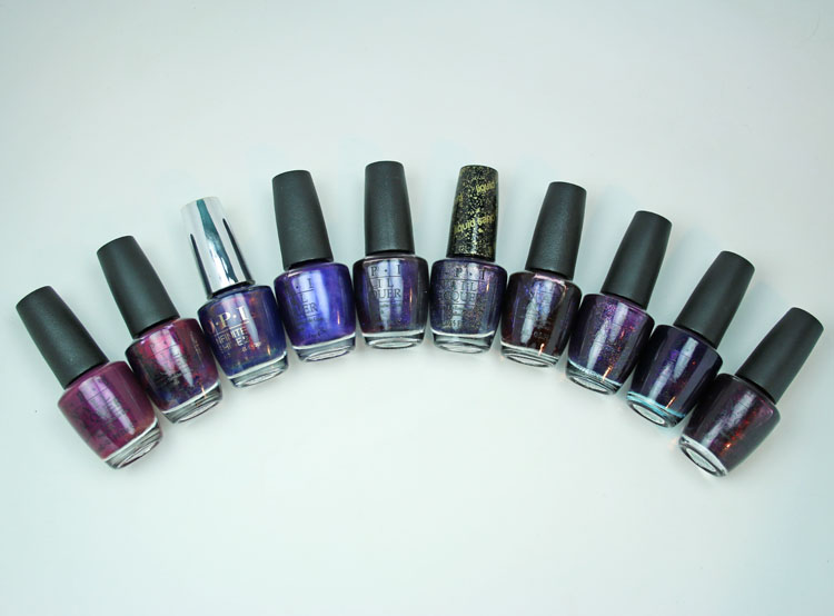 My Favorite Purple OPI Nail Lacquer Colors