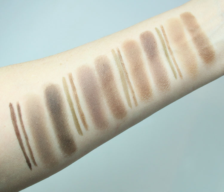 Urban Decay Street Style Brow Collection Swatches
