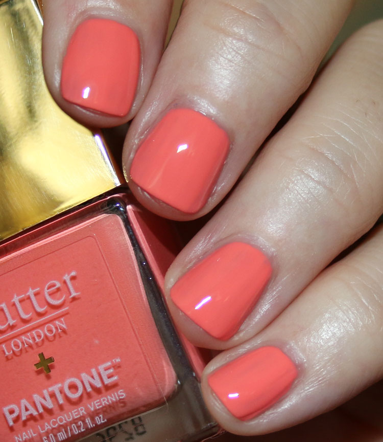 butter London Living Coral Patent Shine 10X