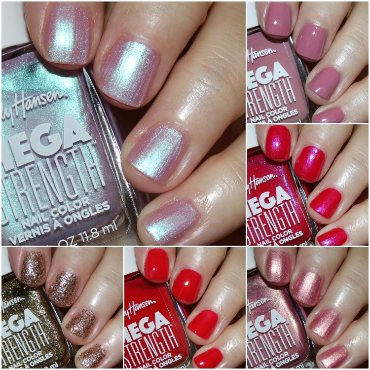 Sally Hansen Mega Strength Nail Color Collection