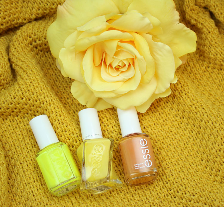 My Favorite Yellow essie Nail Lacquer Colors
