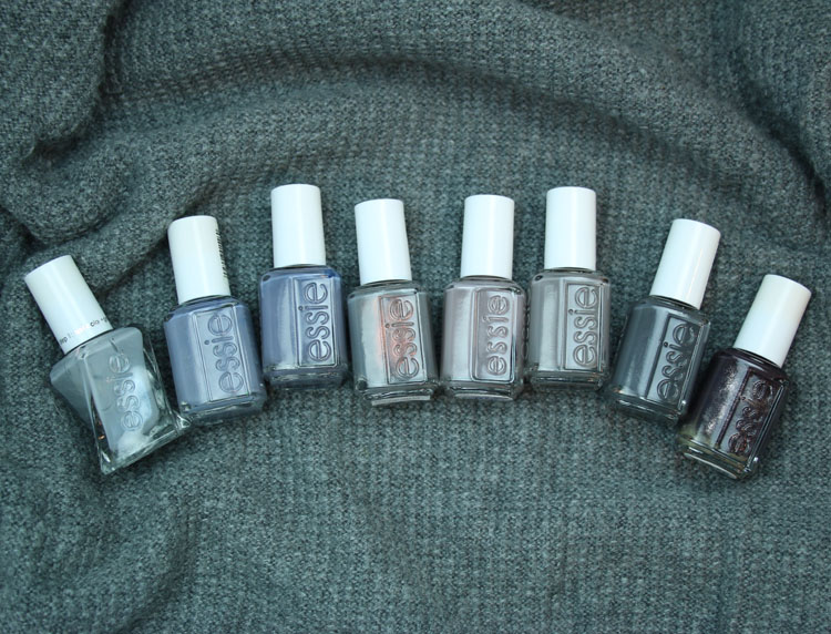 My Favorite Grey essie Nail Lacquer Colors