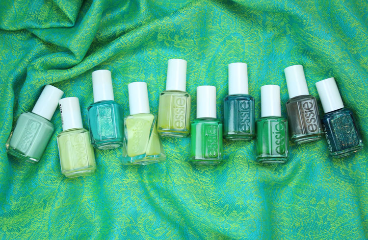 My Favorite Green essie Nail Lacquer Colors