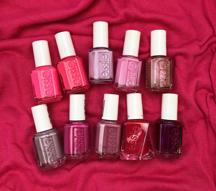 My Favorite Pink essie Nail Lacquer Colors
