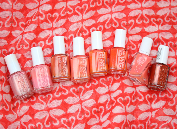 My Favorite Orange essie Nail Lacquer Colors