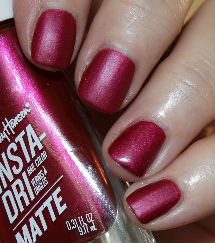 Sally Hansen Insta-Dri Matte Metallic Collection | Vampy Varnish