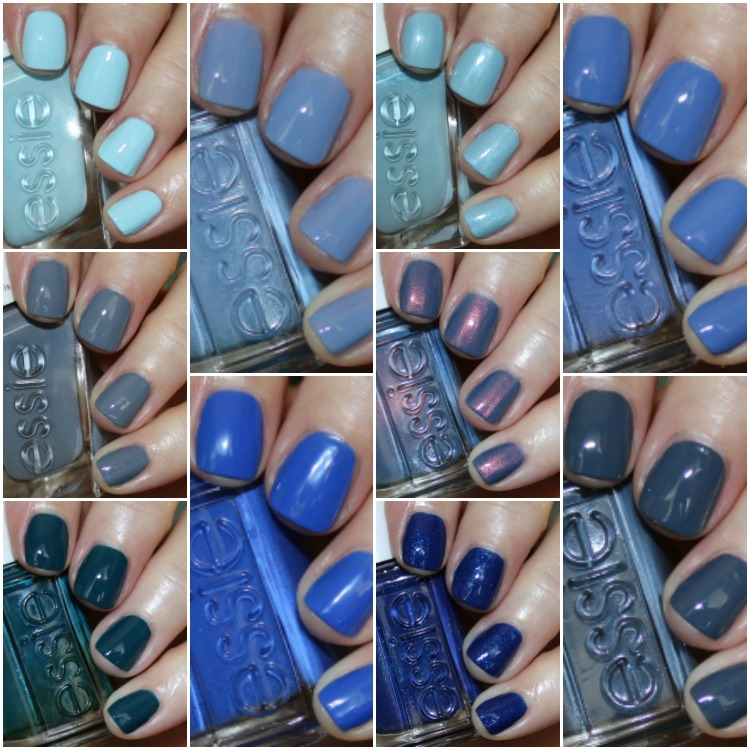 Blue Grey Nail Polish Essie: My Favorite Blue Essie Nail Lacquer Colors