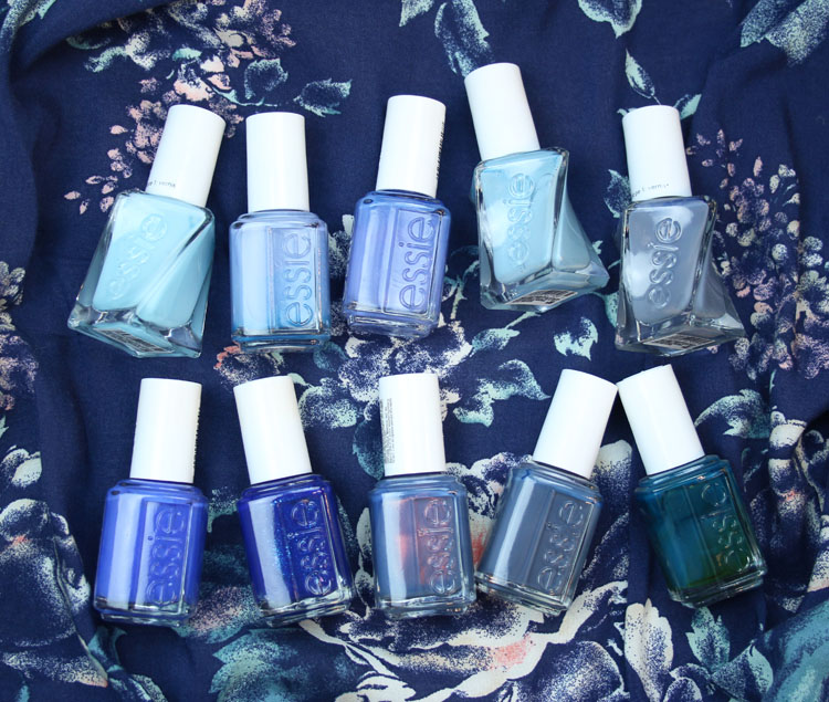 My Favorite Blue essie Nail Lacquer Colors