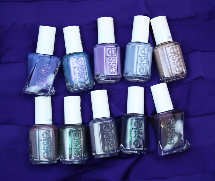 My Favorite Purple essie Nail Lacquer Colors