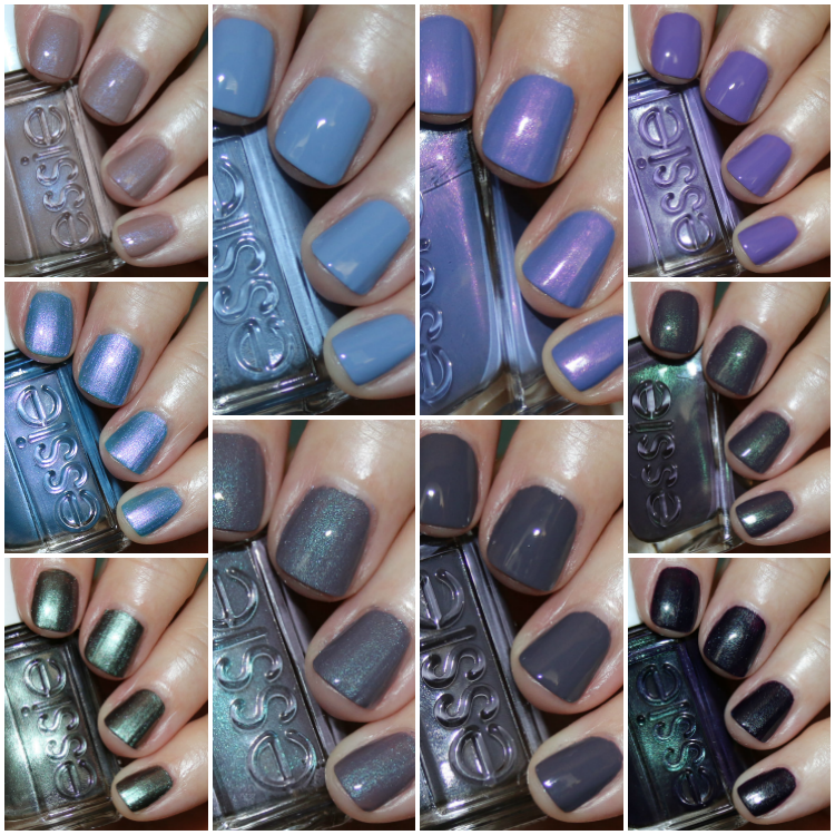 Blue Grey Nail Polish Essie: My Favorite Purple Essie Nail Lacquer Colors