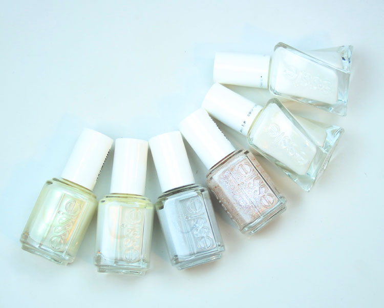 My Favorite White essie Nail Lacquer Colors