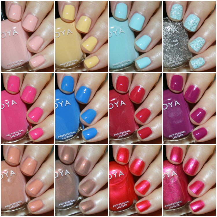 Zoya Barefoot Summer 2019 Collection