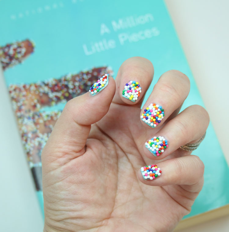 Nails and Books Featuring China Glaze For Audrey