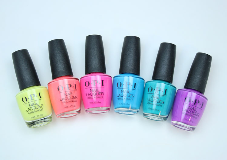 Neon OPI Summer 2019 Collection