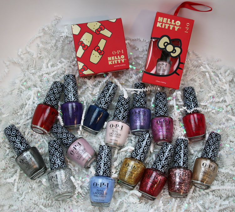 OPI x Hello Kitty Holiday 2019